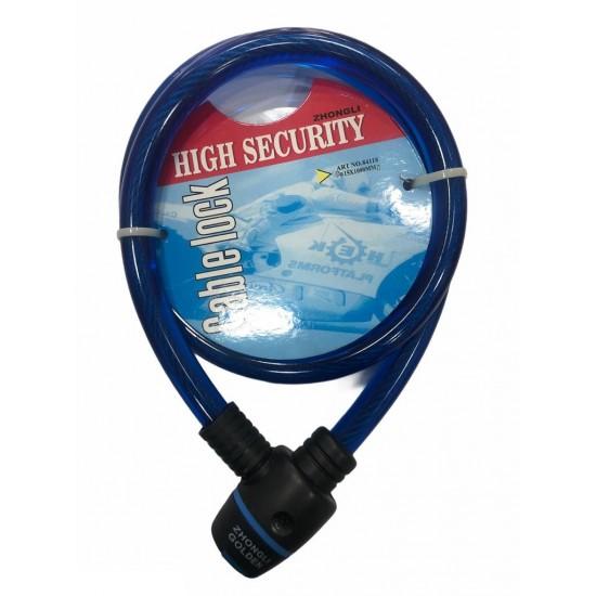 Kilit 15x1000mm Zhongli Anahtarlı Mavi