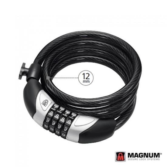 Kilit - Magnum Halat 12x1800, 4B. Şifreli