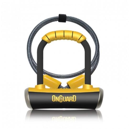 Kilit Anahtarlı U-Kilit 8008 Pitbull Mini Dt Kablolu Onguard