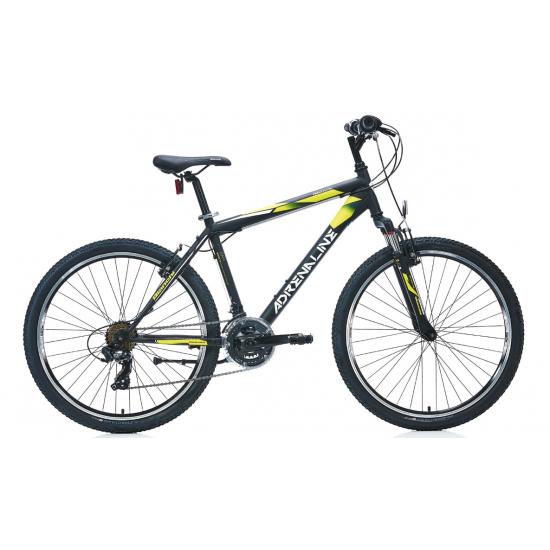 Bianchi Adrenaline Dağ Bisikleti 26 Jant (Mat Siyah-Beyaz-Sarı)