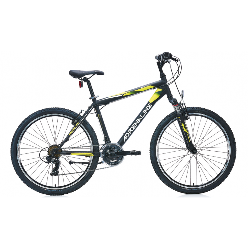 Bianchi Adrenaline Dağ Bisikleti 26 Jant (Mat Siyah-Beyaz-Mavi)