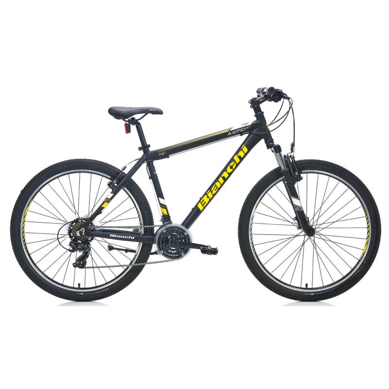 Bianchi Aspid 27 V Dağ Bisikleti (Mat Siyah Sarı...
