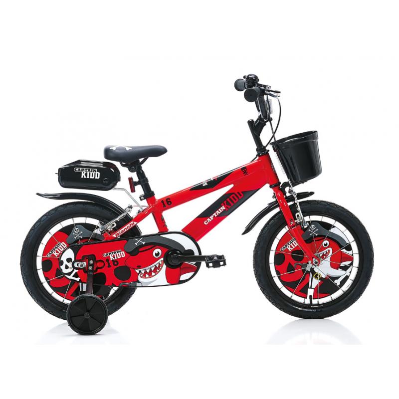 Bianchi Captain Kidd 16 Çocuk Bisikleti (Mavi Siy...