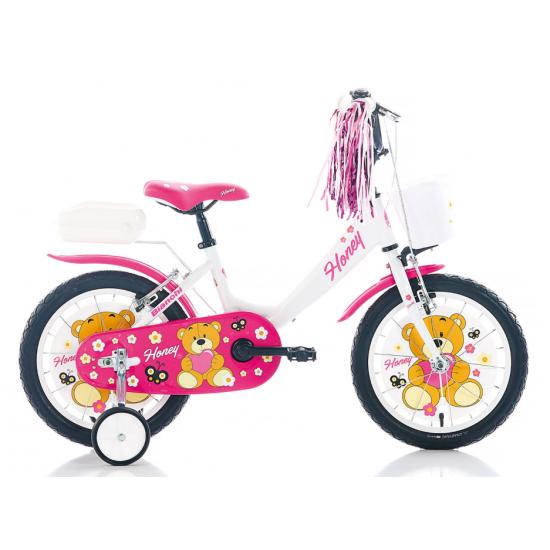 Bianchi Honey Çocuk Bisikleti 16 Jant (Pembe-Beyaz)