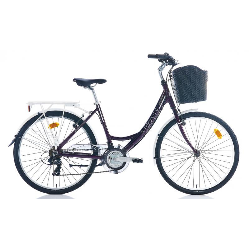 Bianchi Jasmin Şehir Bisikleti 26 Jant (Siyah-Fu�...