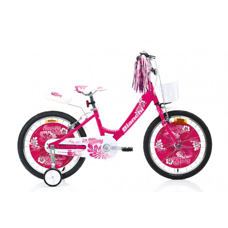 Bianchi Sissy 20 Çocuk Bisikleti (Beyaz-Fuşya)