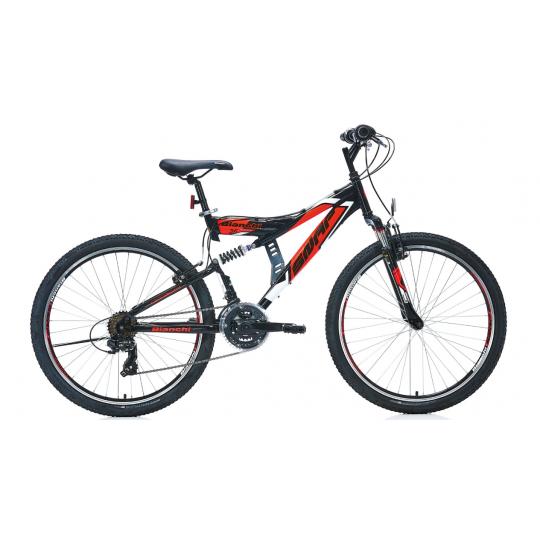 Bianchi Snap 26 V Dağ Bisikleti (Siyah-Kırmızı-Beyaz)