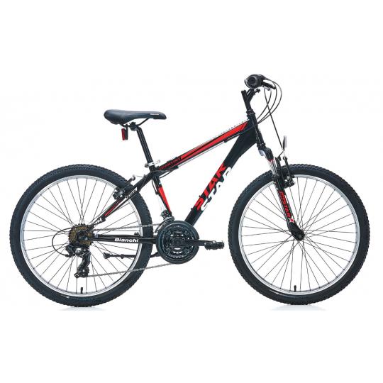 Bianchi Star 24 V Dağ Bisikleti (Siyah-Sarı)