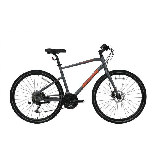 Bisan Trx 8400 28 Hd Trekking Bisiklet Tourney (Mat Gri-Turuncu)