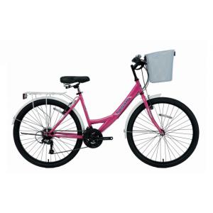 Bisan Mabella 24 V Şehir Bisikleti (Mor Pembe)