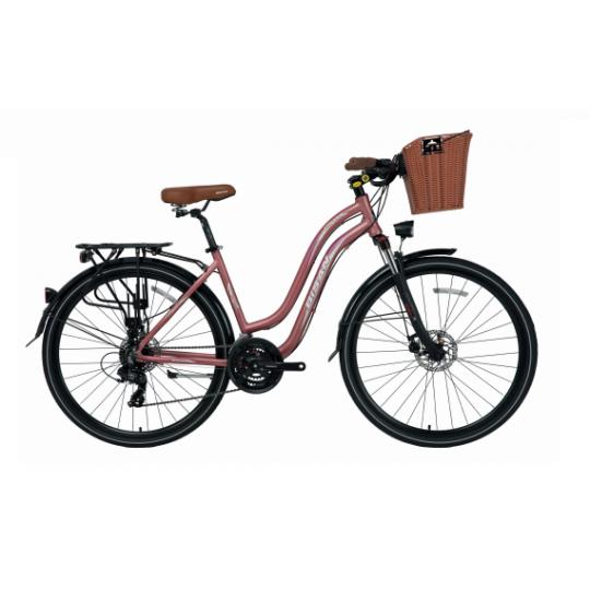Bisan Ctx 6300 Şehir Bisikleti 28  Jant (Turkuaz-Bordo)