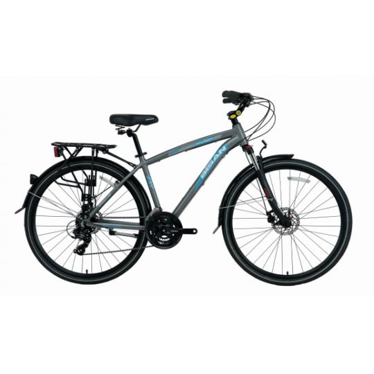 Bisan Ctx 6400 Comfort Line Şehir Bisikleti 28 Jant (Siyah-Mavi)