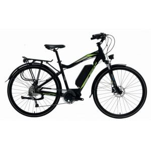 Bisan E-City 28 Hd Şehir Bisikleti (Gri-Yeşil)