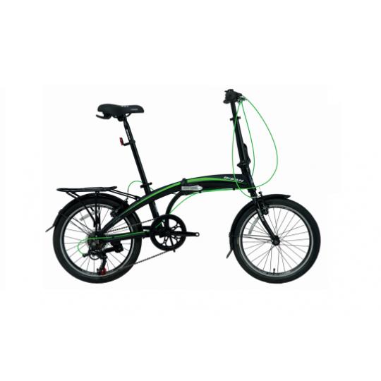 Bisan FX 3500 Altus Katlanır Bisiklet 20 Jant (Siyah-Mavi)