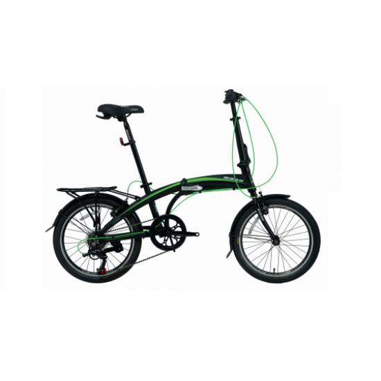 Bisan FX 3500 Altus Katlanır Bisiklet 20 Jant (Siyah-Turuncu)