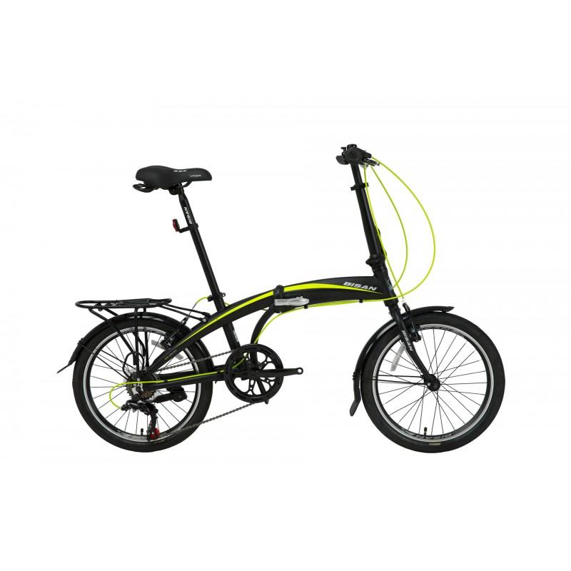 Bisan FX 3500 20 V Katlanır Bisiklet Tourney (Siy...