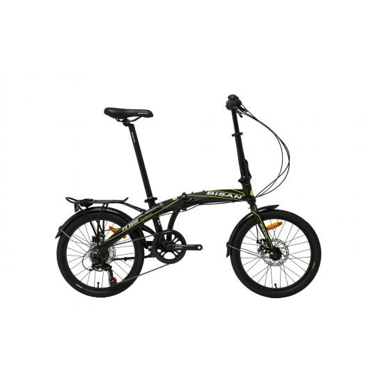 Bisan Fx 3600 Katlanır Bisiklet Tourney (Gri-Turuncu)
