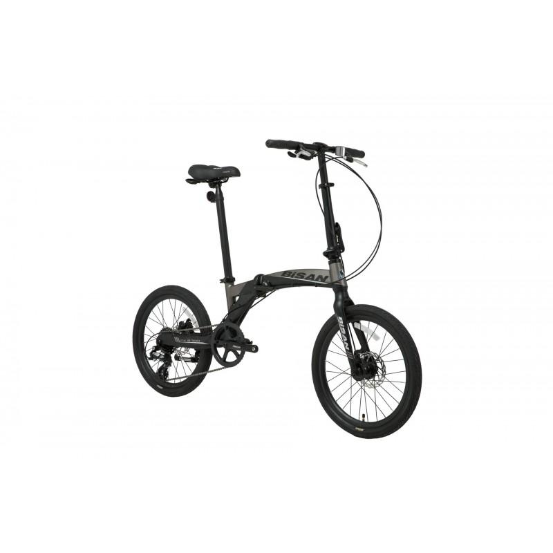 Bisan FX 3700 Katlanır Bisiklet (Siyah-Gri)