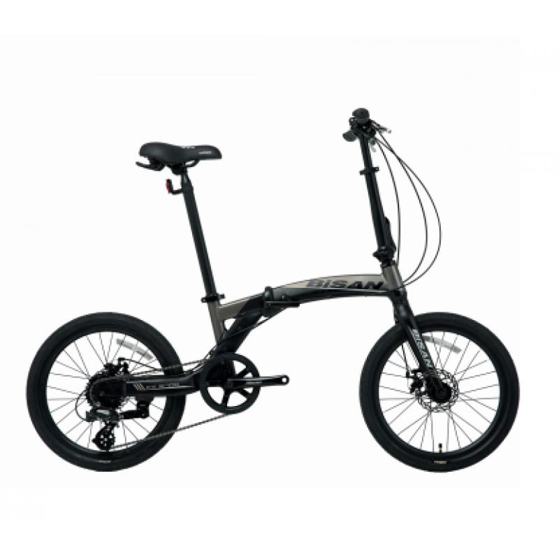 Bisan FX 3700 Katlanır Bisiklet 20 Jant (Siyah-Gr...