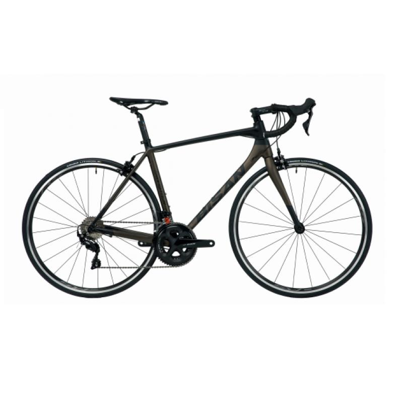 Bisan Grand Tour Eco Yol Bisikleti 28 Jant Sora (Siyah-Gri)