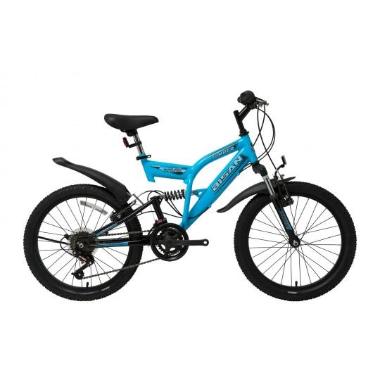 Bisan Jumper Çocuk Bisikleti 20 Jant (Mavi-Siyah)