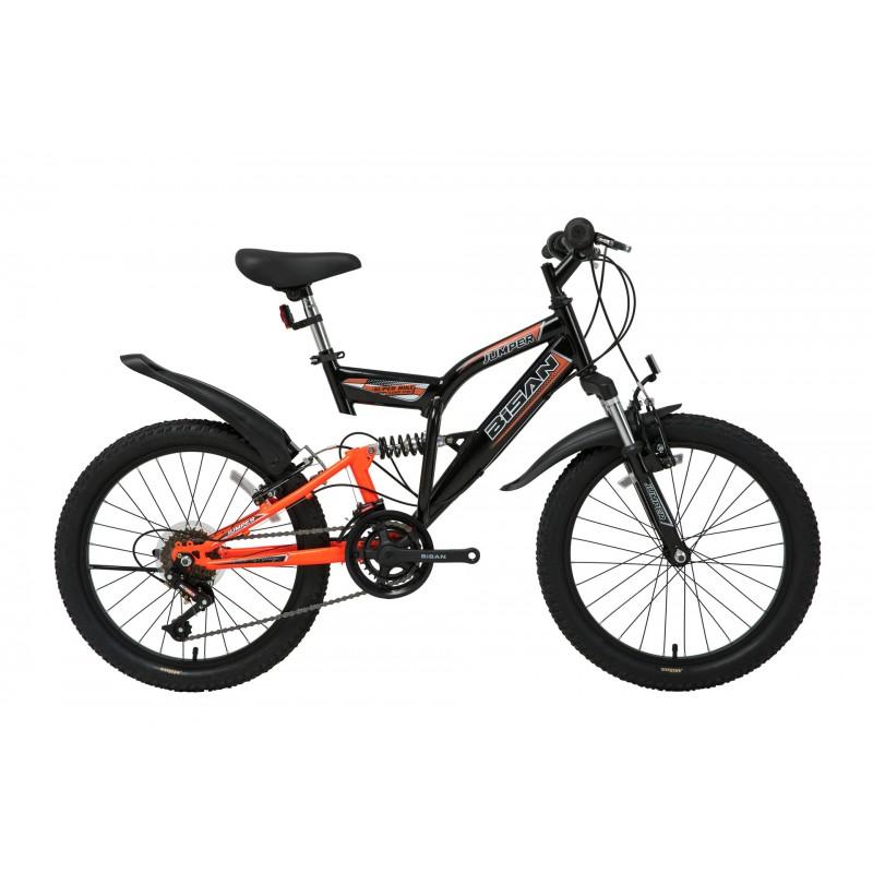 Bisan Jumper Çocuk Bisikleti 20 Jant (Siyah-Turun...