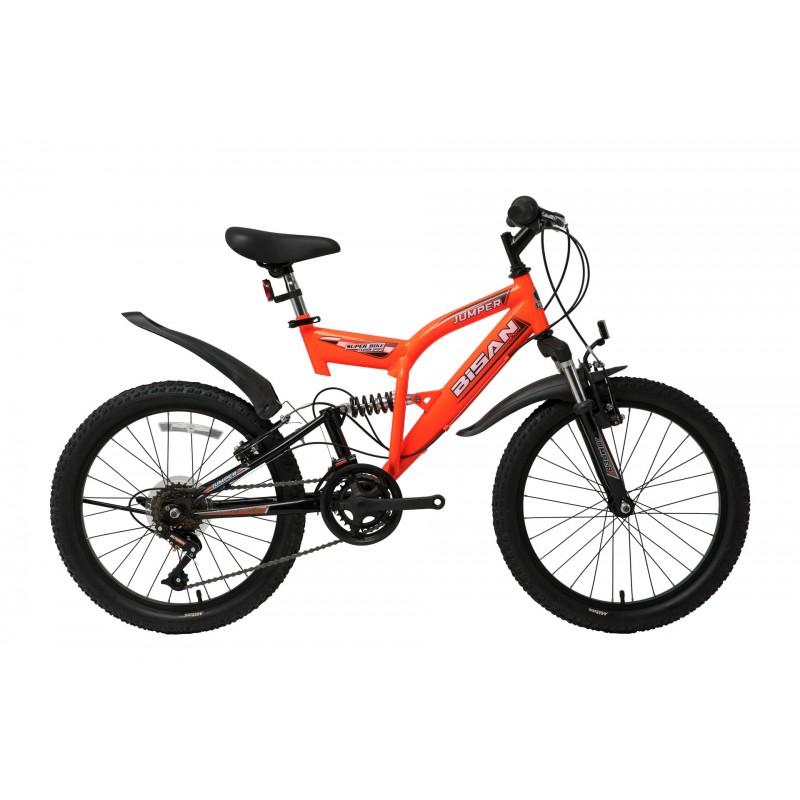 Bisan Jumper Çocuk Bisikleti 20 Jant (Neon Turunc...