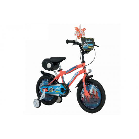 Bisan Bobo 16 Çocuk Bisikleti (Sarı-Siyah)