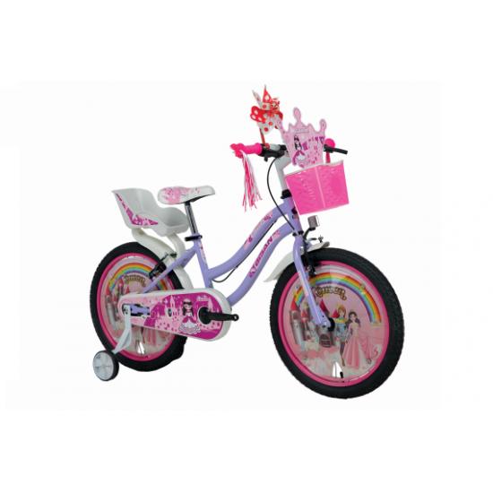 Bisan Kds 2300 Queen Çocuk Bisikleti 20 Jant (Lila-Pembe)