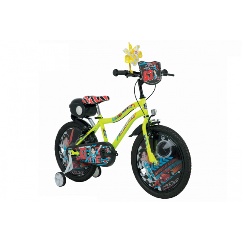 Bisan Kds 2450 Niko Çocuk Bisikleti 20 Jant (Turu...