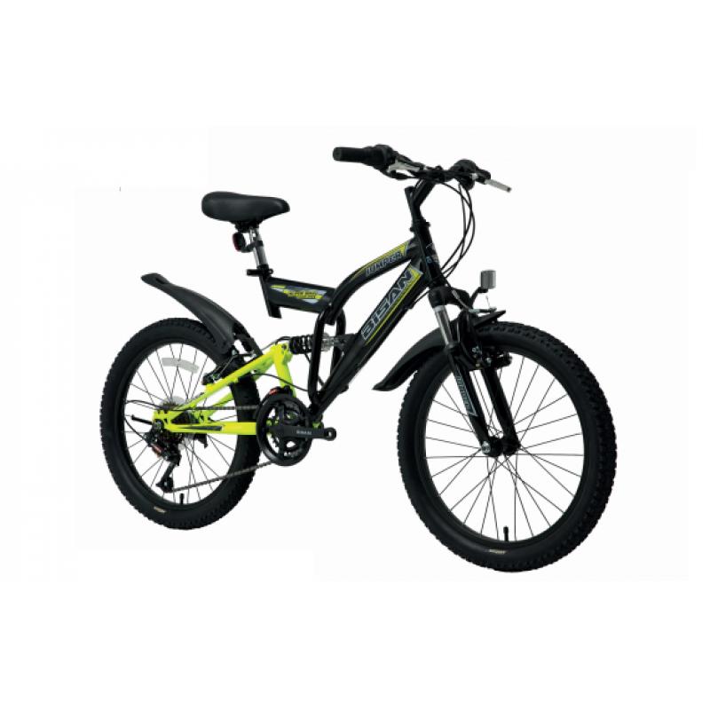 Bisan Kds 2700 Çocuk Bisikleti 20 Jant (Mavi-Siya...