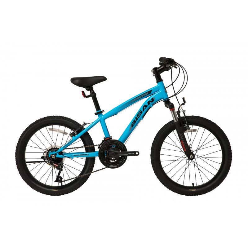 Bisan Kds 2750 20 V Çocuk Bisikleti (Mavi Siyah)