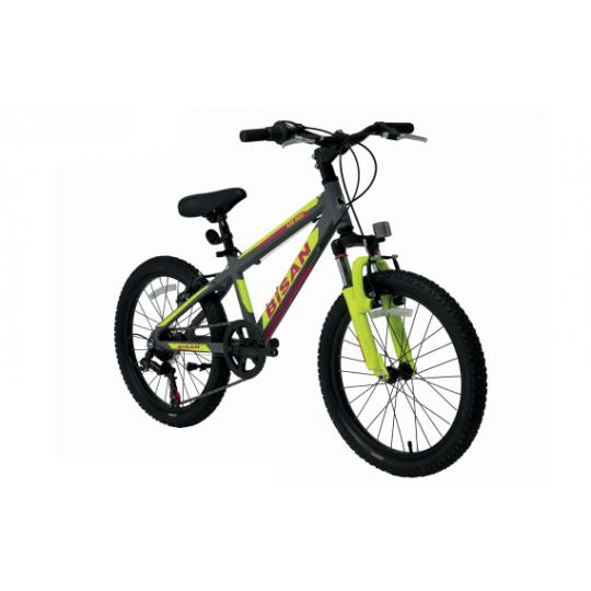 Bisan Kdx 2600 Çocuk Bisikleti 20 Jant (Yeşil-Turuncu)