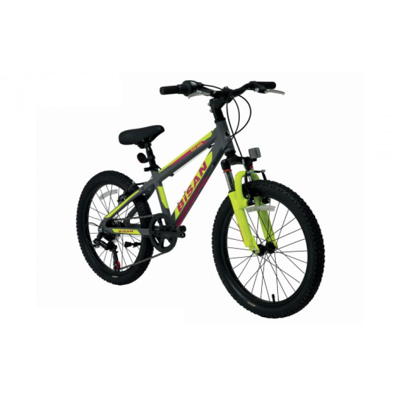 Bisan Kdx 2600 Çocuk Bisikleti 20 Jant (Yeşil-Tu...