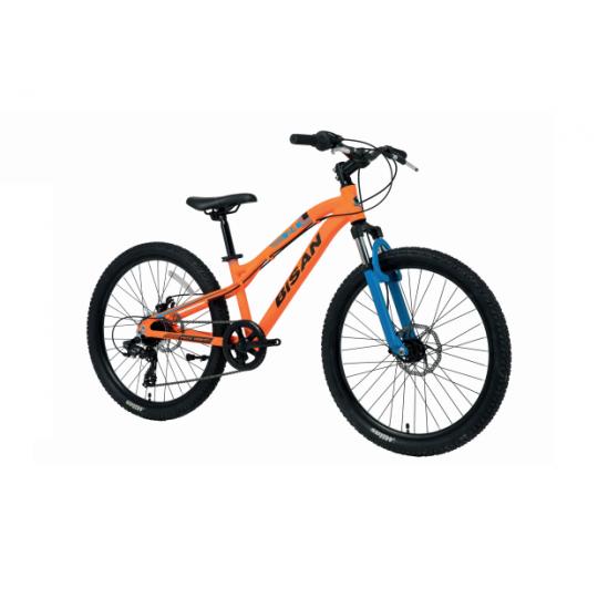 Bisan Kdx 2800 Çocuk Dağ Bisikleti 24 Jant (Turuncu-Siyah)