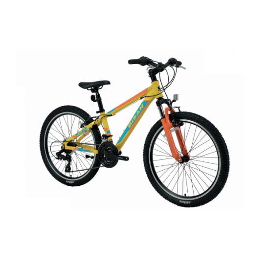 Bisan Kdx 2900 Çocuk Bisikleti 24 Jant (Siyah-Turuncu)