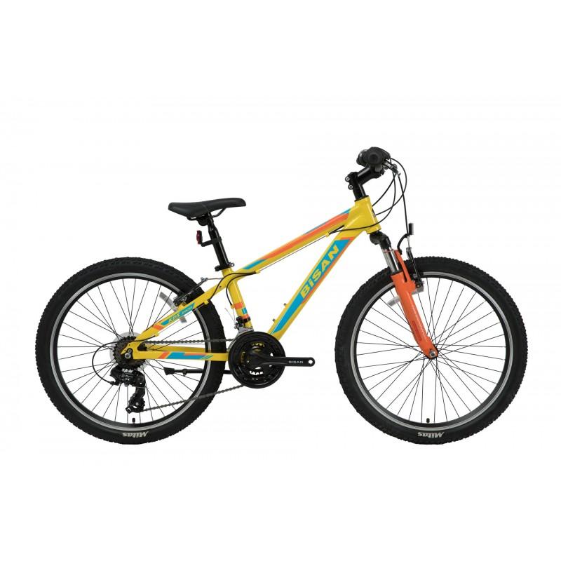 Bisan Kdx 2900 24 V Çocuk Bisikleti (Sarı-Mavi)