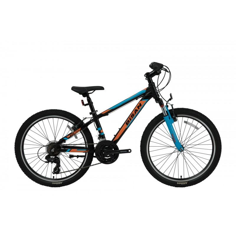 Bisan Kdx 2900 24 V Çocuk Bisikleti (Siyah-Turunc...