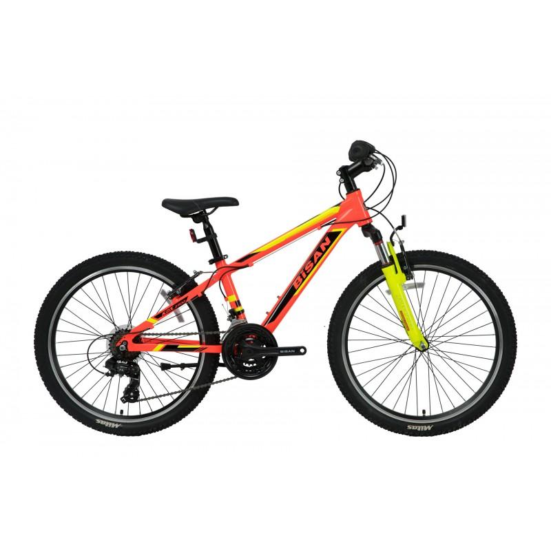 Bisan Kdx 2900 24 V Çocuk Bisikleti (Turuncu-Siya...