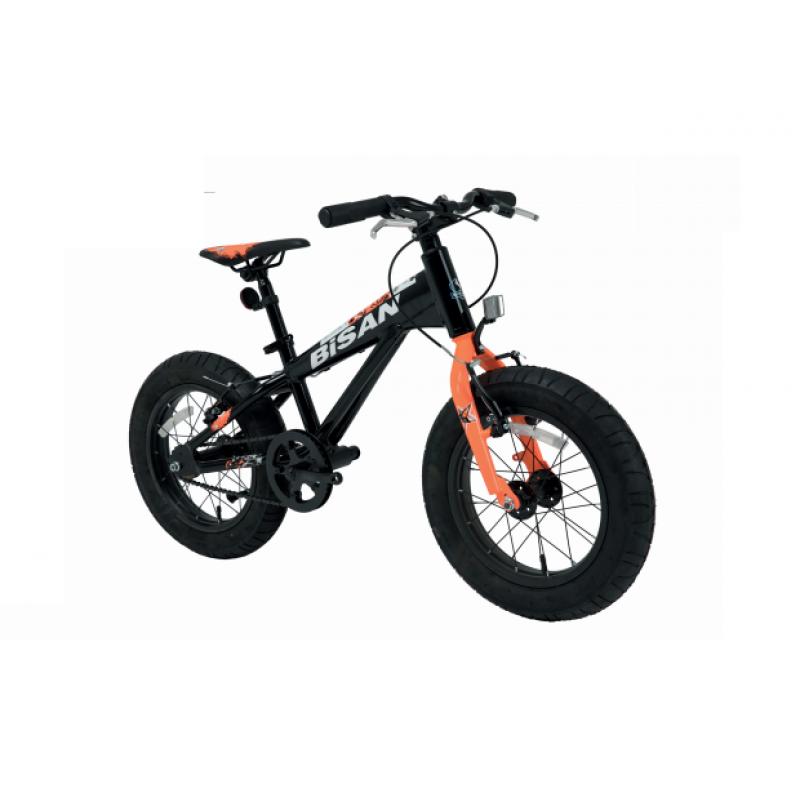 Bisan Limit 16 Çocuk Bisikleti Fat Bike (Siyah-Yeşil)