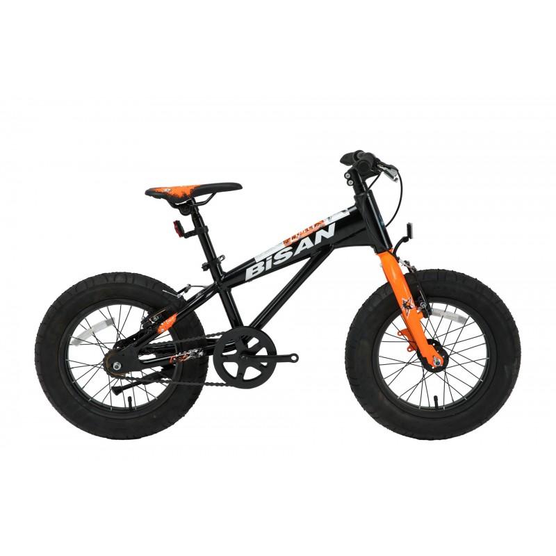 Bisan Limit 16 Çocuk Bisikleti Fat Bike (Siyah-Tu...