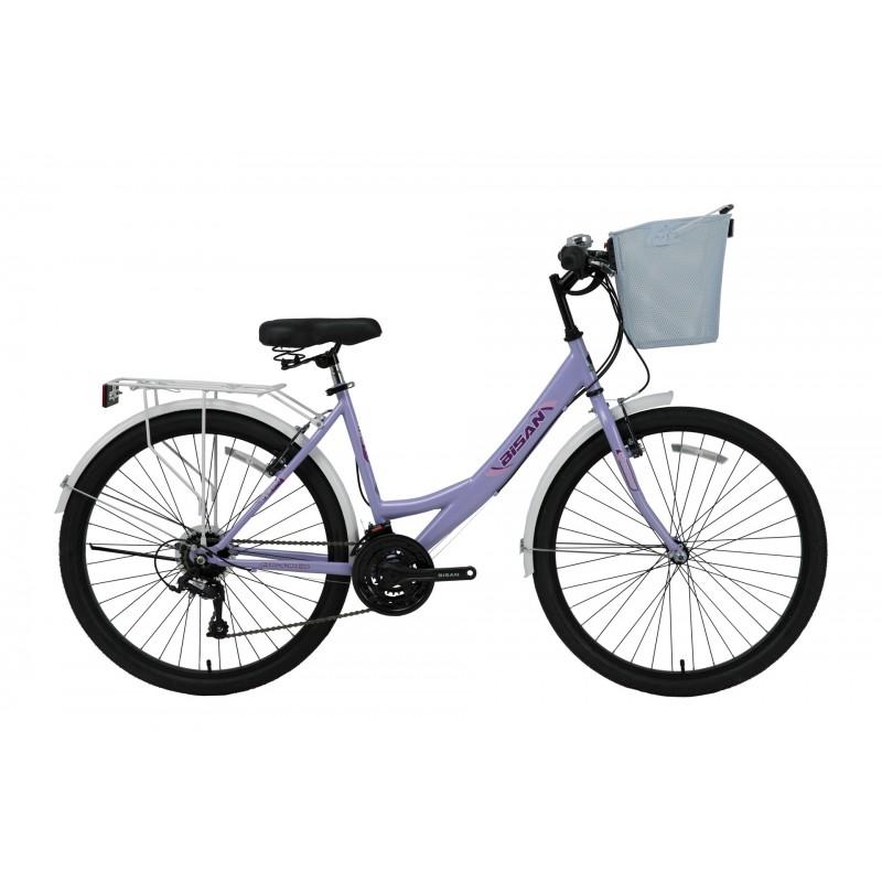 Bisan Mabella 26 V Şehir Bisikleti (Mor Pembe)