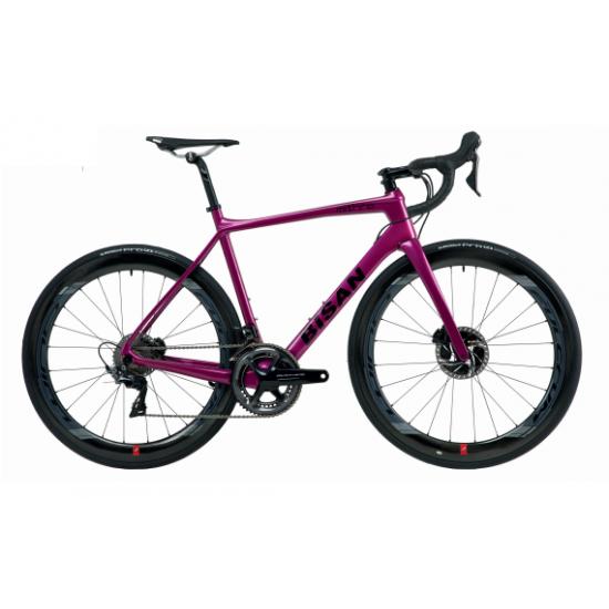 Bisan Mithra Disc Yarış Bisikleti 105 Set (Gri-Sarı)