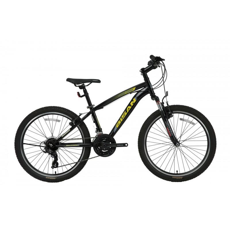 Bisan Mts 4600 24 V Dağ Bisikleti (Neon Sarı-Siyah)