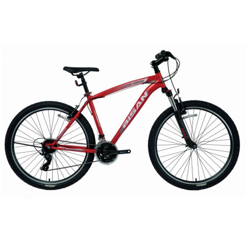 Bisan Mts 4600 24 V Dağ Bisikleti (Pembe-Siyah)