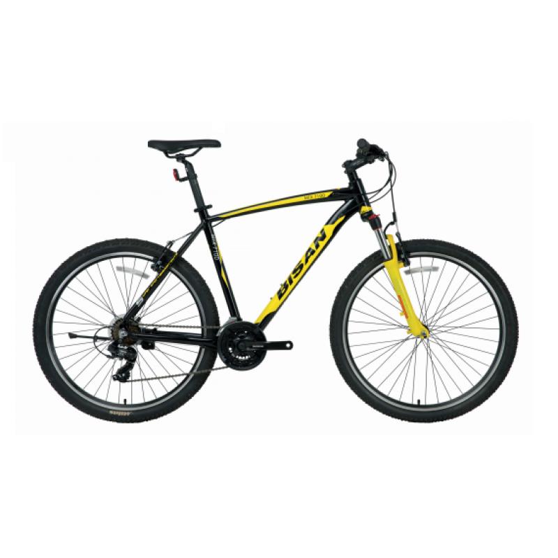 Bisan Mtx 7100 27.5 Jant Dağ Bisikleti (Gri-Siyah...