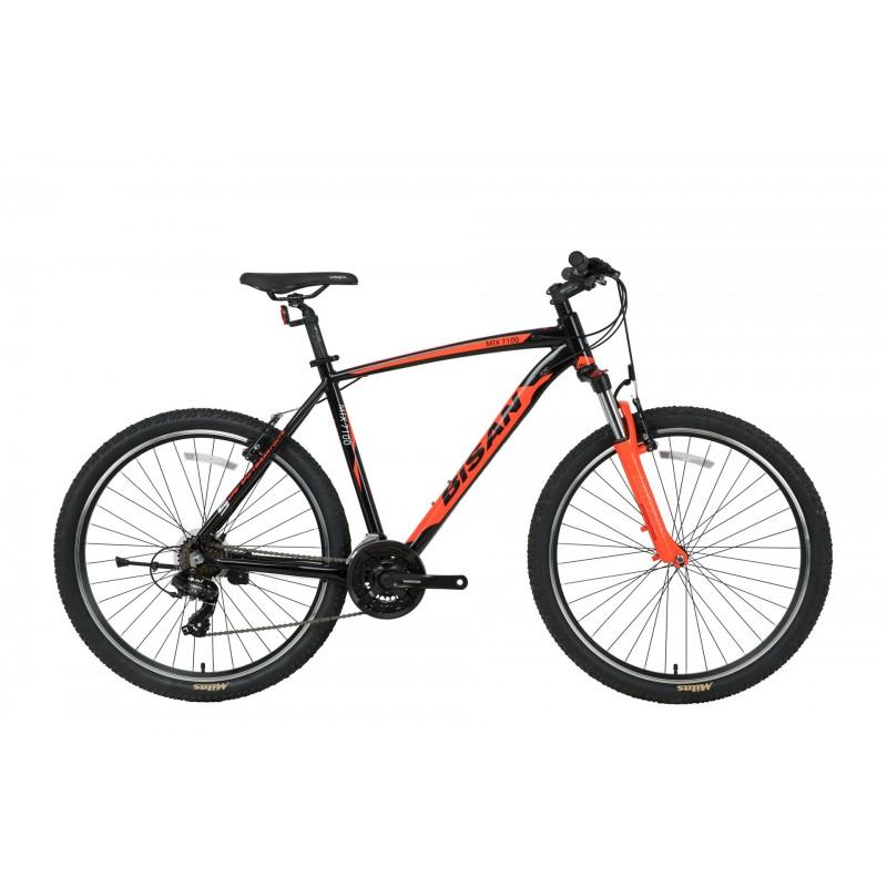 Bisan Mtx 7100 26 V Dağ Bisikleti (Siyah-Kırmız...