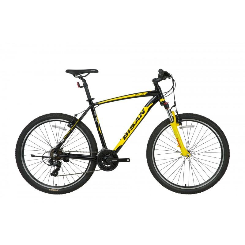 Bisan Mtx 7100 27.5 V Dağ Bisikleti (Siyah-Sarı)
