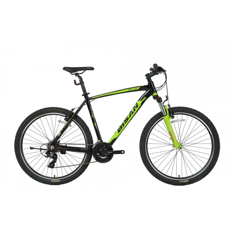 Bisan Mtx 7100 29 V Dağ Bisikleti (Siyah-Gri)