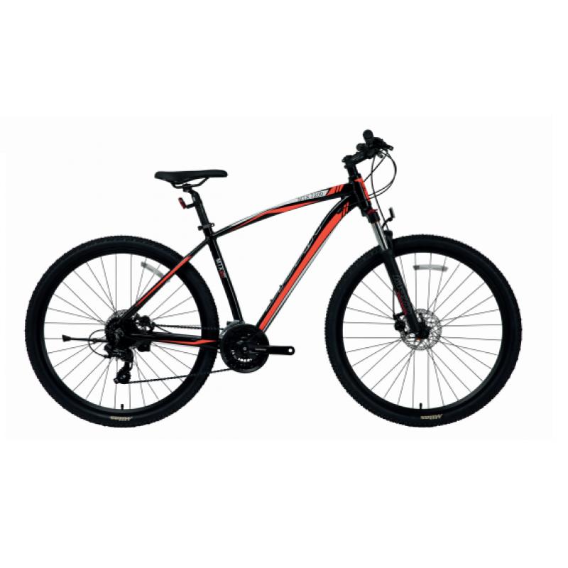 Bisan Mtx 7200 27.5 Md Dağ Bisikleti (Siyah-Gri)